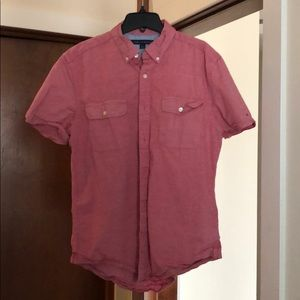 Short Sleeve Button Down